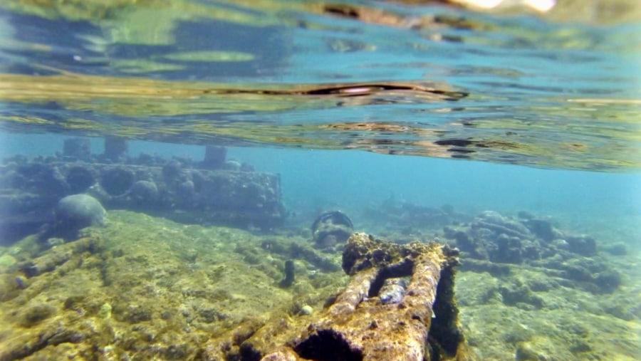 shipwreck at Marias