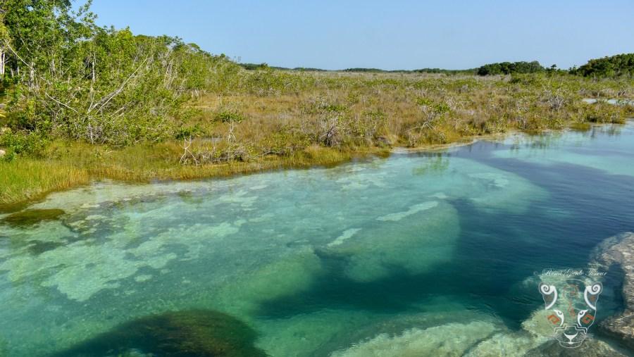 Rapids at Bacalar Lake