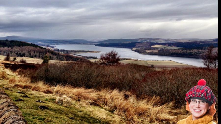 Millionaires View Point in Sutherland - Лучший панорамный вид в графстве Сазерленд