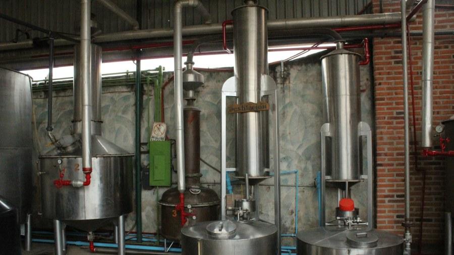 Primera Destilación.