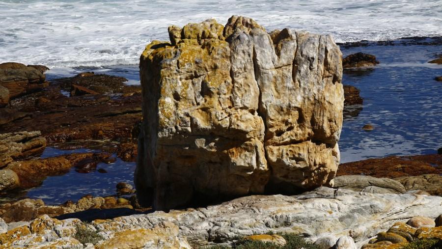 Beautiful rocks on Cape Peninsula Route
