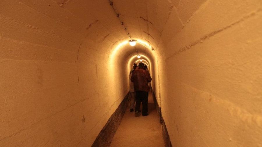 German underground military bunker