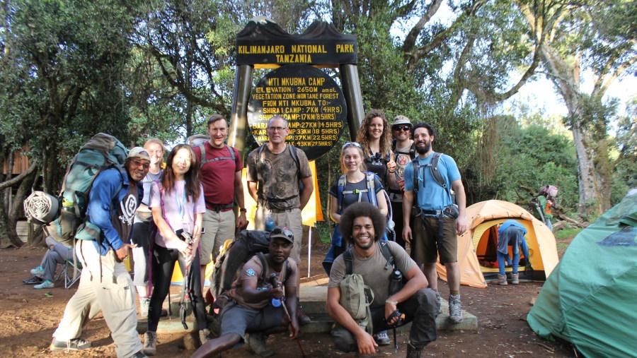 Mt Kilimanjaro - Lemosho Route