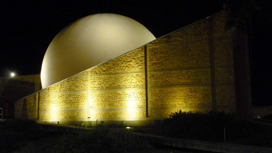 Gibellina : l'innovativa Chiesa Madre (opera di Ludovico Quaroni)