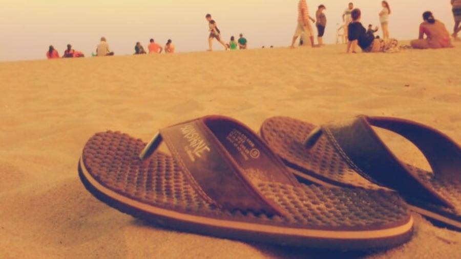 Pondicherry hot beach