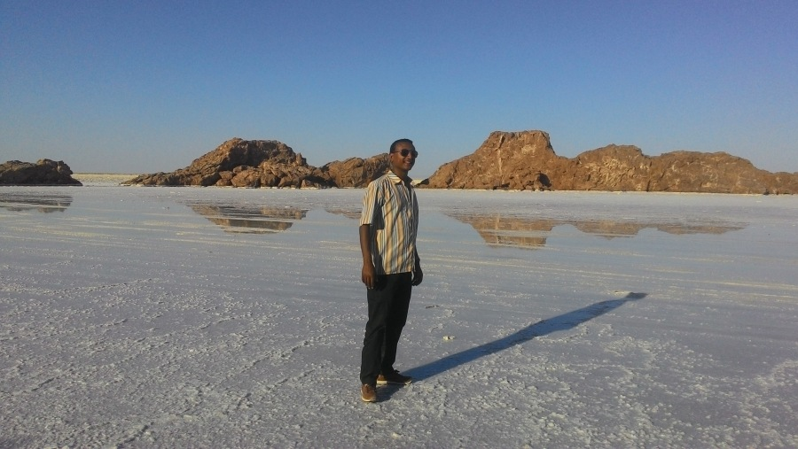 Me at Dallol (Denakil) Depression, NE Ethiopia