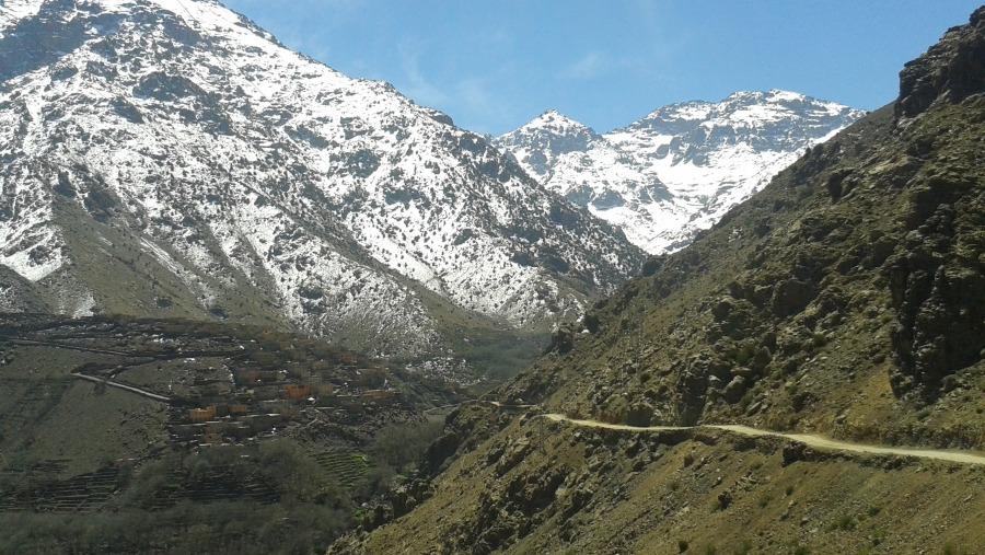 Toubkal trekking, Atlas mountains