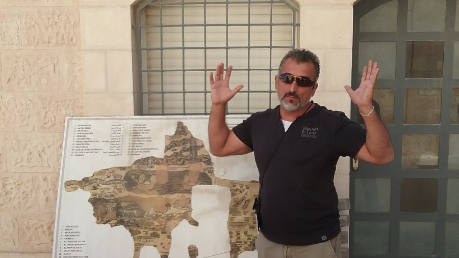 Raed Haddad is a first-class tour guide