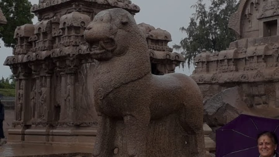 Five rathas temple