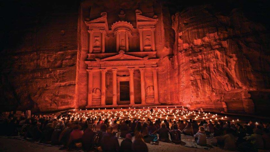 Petra By Night show