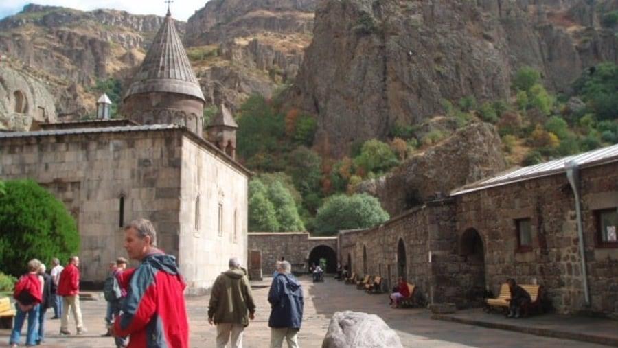 Geghard monastery of Spear