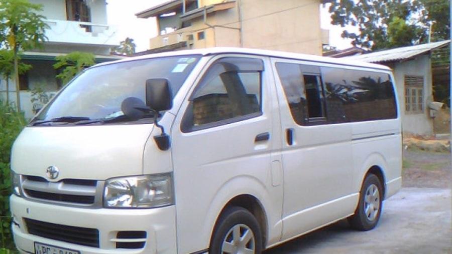 Toyota 7 seater van