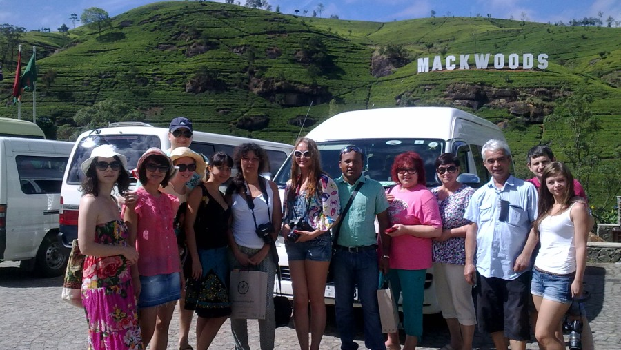 Russian Tour group