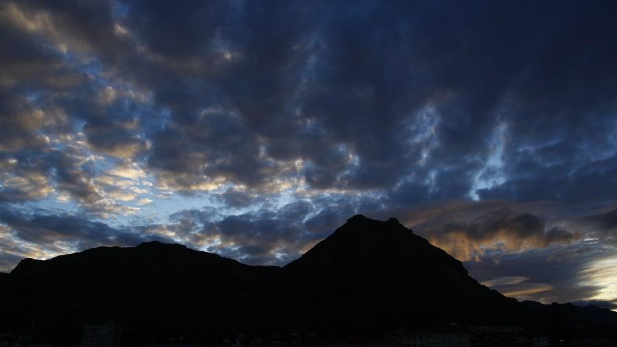 Sunset at Muizenberg