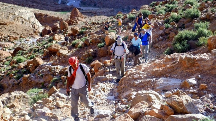 Guided winter ascent of Mount Toubkal