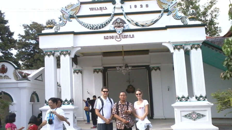 Bion Jerome & Bion Cindy in Sultan Palace