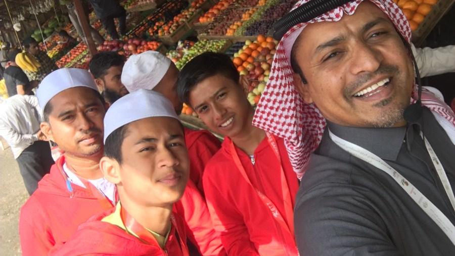 Fruit market in Alhada - Taif