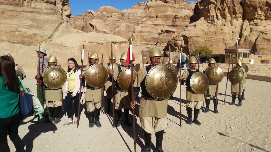 Show in Petra