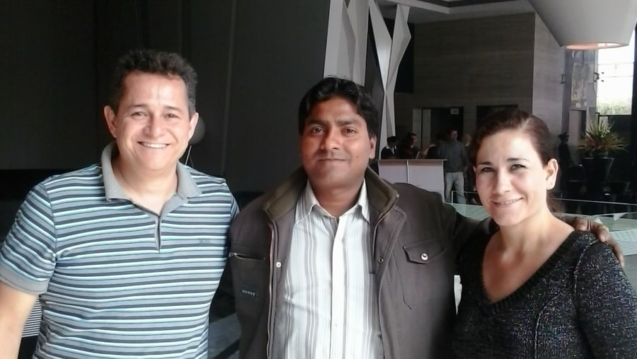Guests from Mexico.