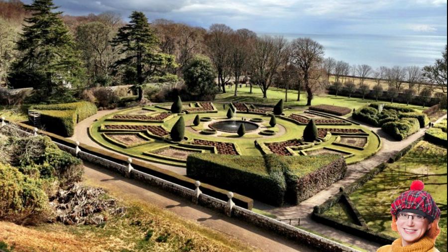 Dunrobin Castle garden - Сад замка Данробин