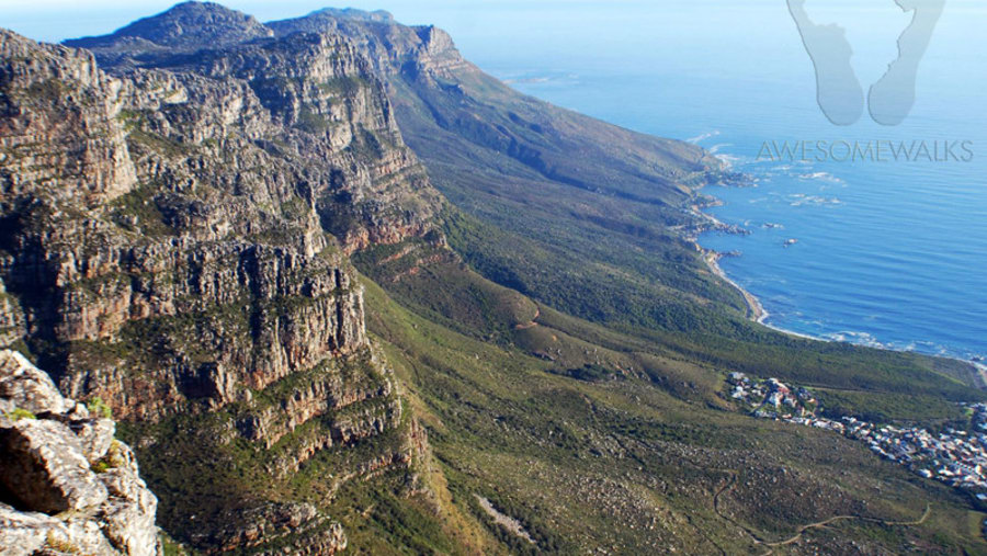 View of the Pipe Track from Table Mountain