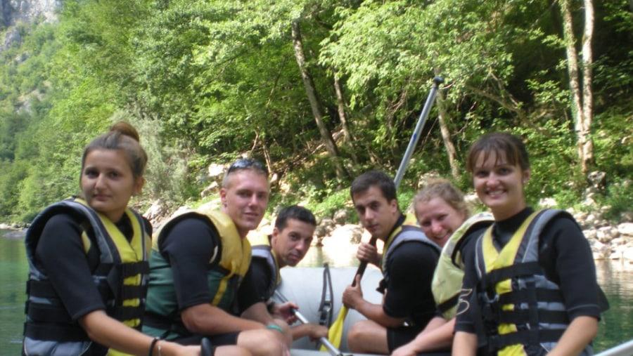 Adrenalin tour on river Tara