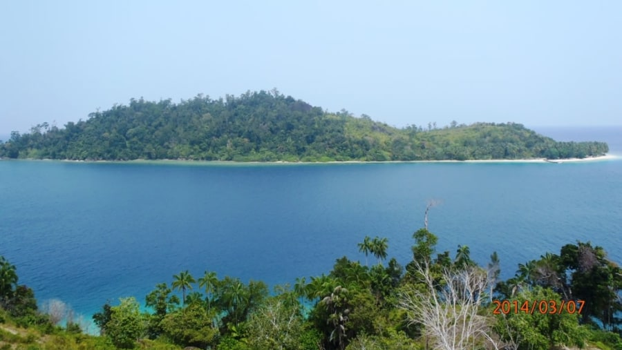 Full view Pagang Island