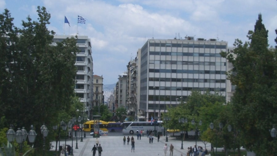 Syntagma Square is the most important square in Athens; it is constantly crowded with locals and tourists alike. The square is bordered on the east side by the Hellenic Parliament Building.