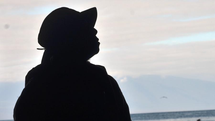 Observing the horizon at dawn