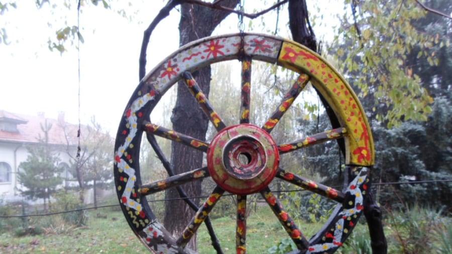 gypsy wooden wheel