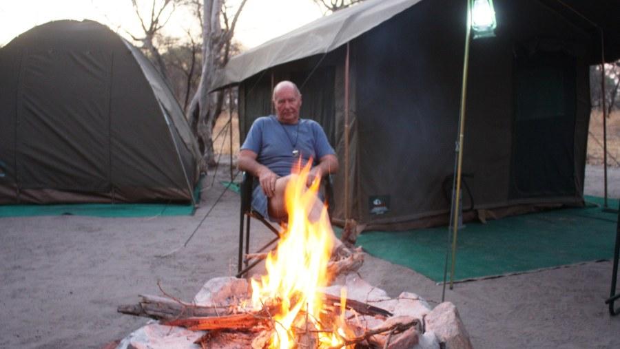 Camping at Sedia hotel.