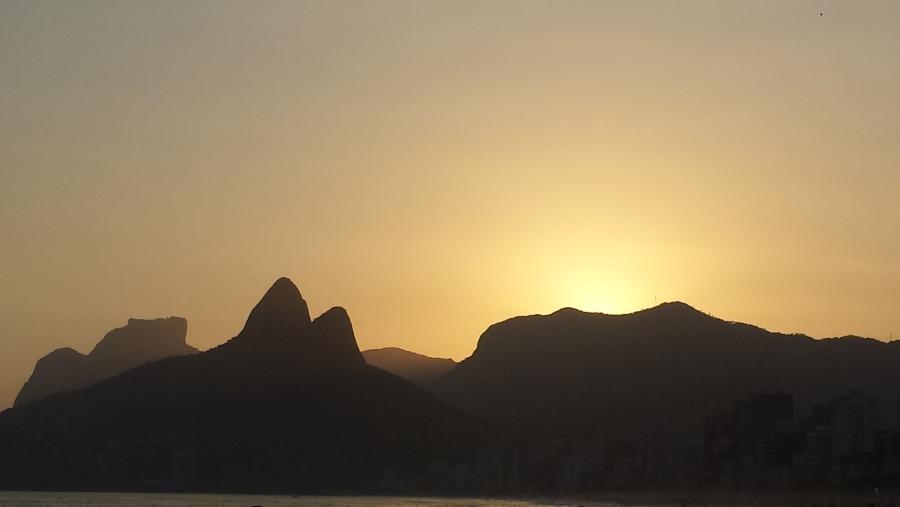 Pedra da Gávea and Morro Dois Irmãos