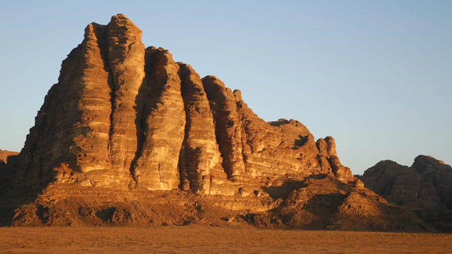 wadi rum mountain