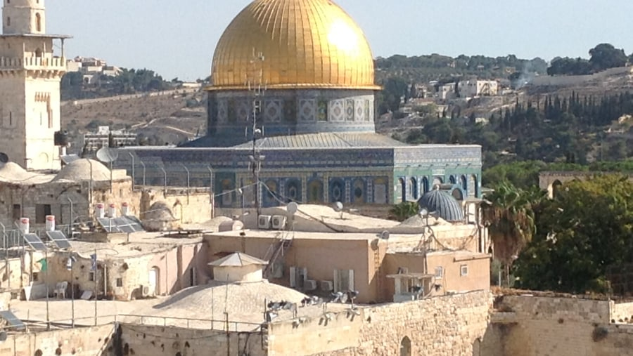 Jerusalem,Dome of the Rock,Tempel Mount.