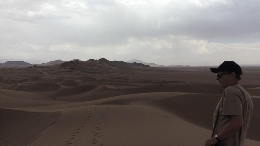 exploring the desert in bafq