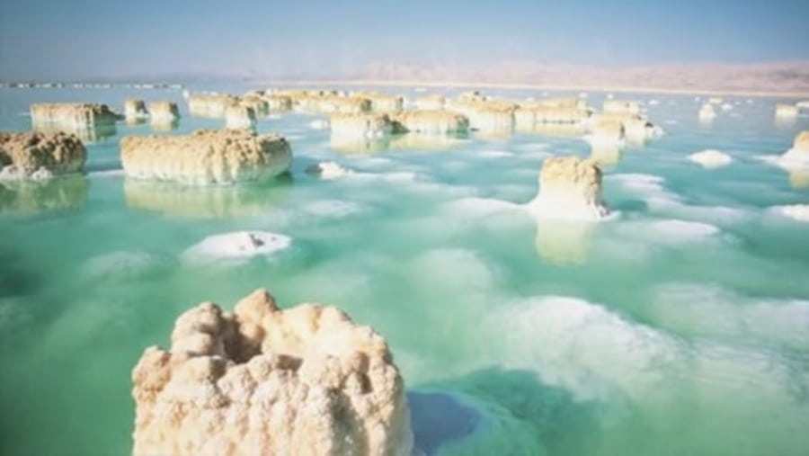Dead Sea -Saltiest Lake in the world