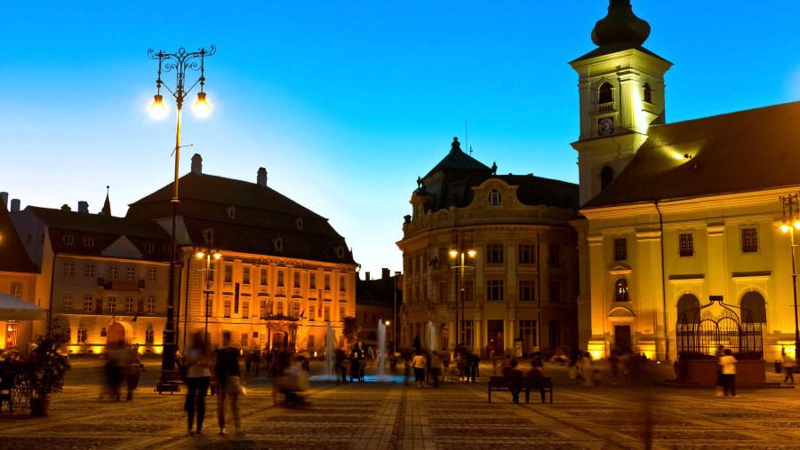 Sibiu city centre