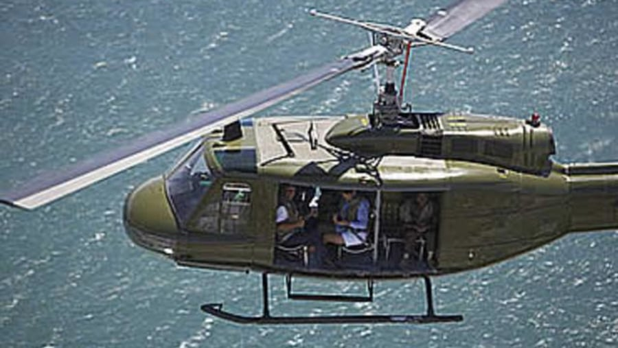 Huey Helicopter Combat Mission