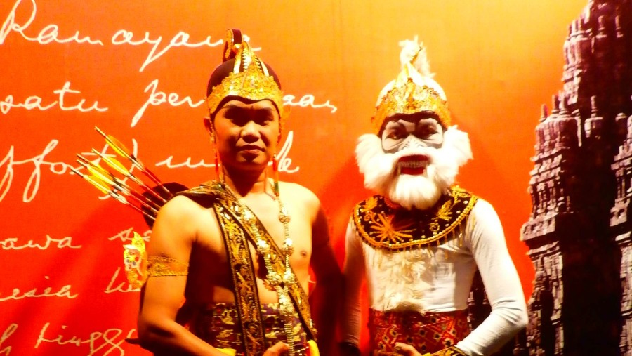 Rama and Hanoman
