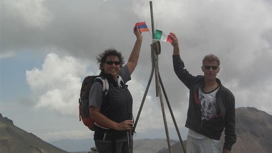 Aragats mnt.4000m