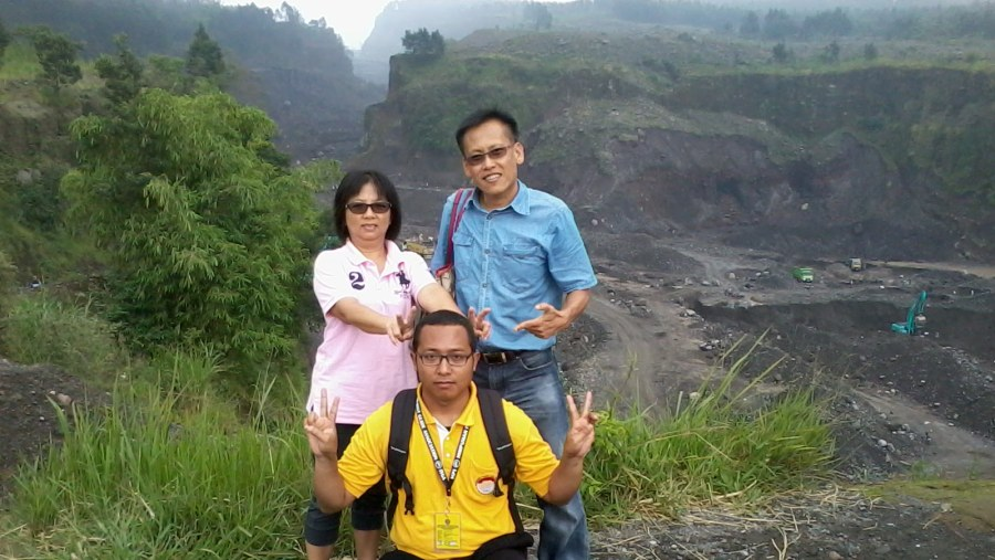 Mr.Abu & his wife (Chinese Malaysian) - Merapi Volcano Tour