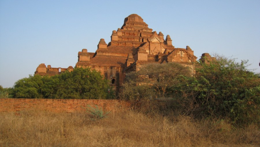 Sussi & Frej in Bagan 2015