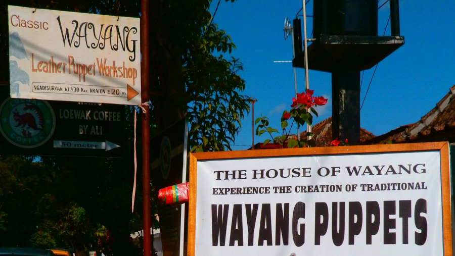 Learn the philosophy of Wayang