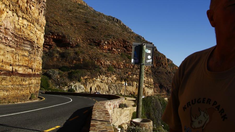 Beautiful mountains on the Cape Peninsula Safari Route