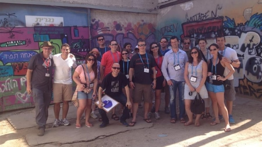 Tel Aviv graffiti tour