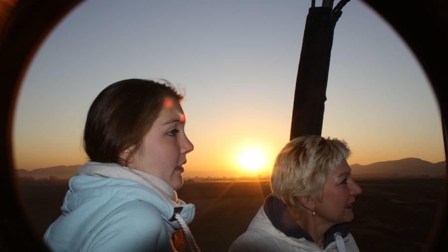 Sunrise at 3000 feet