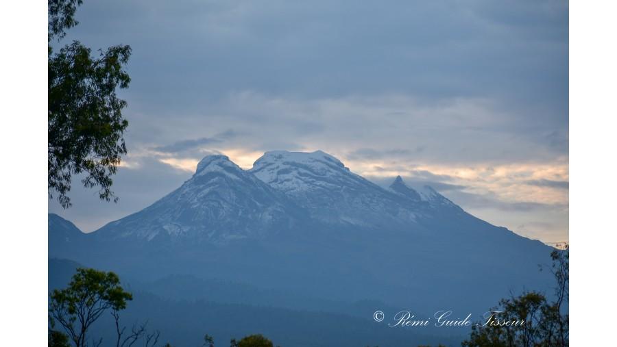 Iztaccíhuatl at sunrise