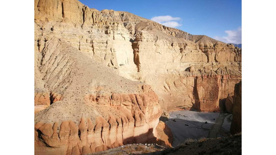 Amazing landscape of upper mustang