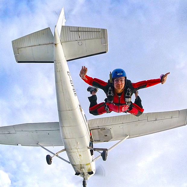 parachutisme gatineau