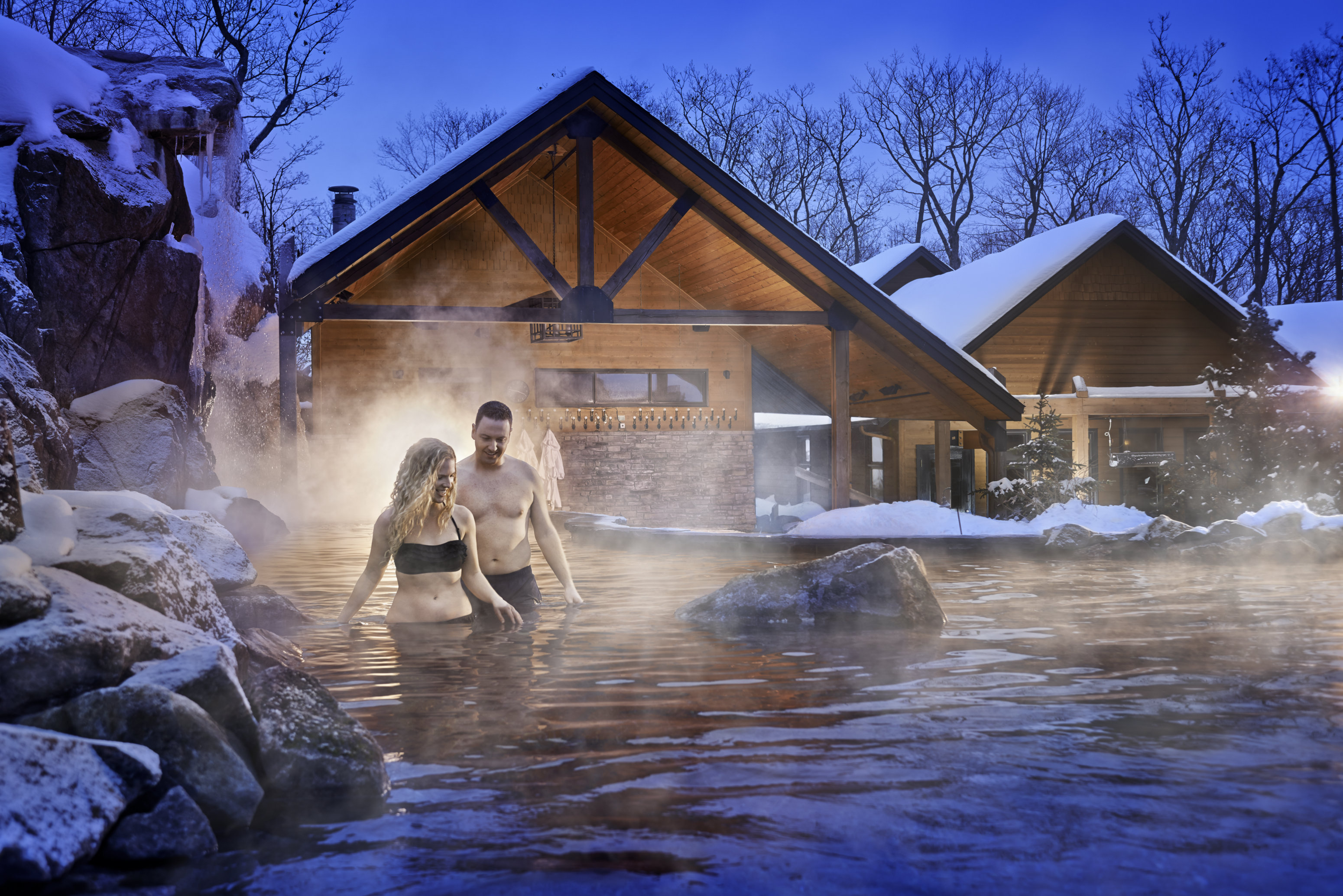 Le Nordik Spa Nature In The Outaouais Region Tourisme